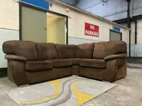 FREE DELIVERY 🚚 Scs Fabric Corner Sofa / couch / furniture / chair