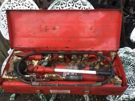 Original Jack Sealey Super Snap 10 Ton Hydraulic Body Repair Kit