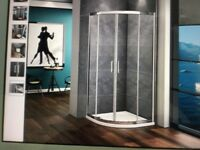 Shower enclosure. 760 x 760mm. Height 1850mm NO SHOWER TRAY
