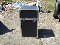 LARGE STORAGE CRATE  / SHIPPING CONTAINER /AUDIO ROAD CASE