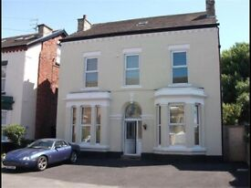 2 Bed furnished garden apartment off College Rd Crosby (close to station) parking, two bathrooms