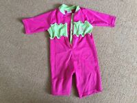 All in One Swimsuit 9-12 months -£5