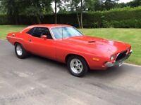 1973 Dodge Challenger Rallye 340 V8 Automatic