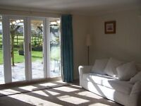large 1 bedroom self - contained annexe in semi-rural location .£900 pcm all inclusive