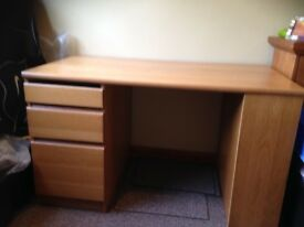 John Lewis computer desk. Good condition. £35