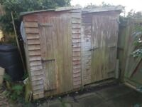2 sheds - free - well used