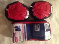 Training gloves and pads