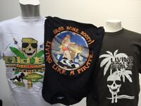 250 High Quality Brand New T-shirts suitable for market trader. Mainly mens designs £1 each