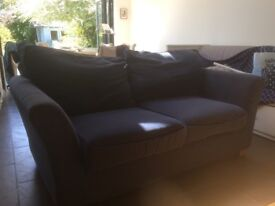 Comfortable blue sofa for sale in Forest Hill
