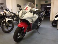 Hyosung GT 125 RC Manual Sports Bike, 1 Owner, Very Low Miles, Good Condition, Cat C