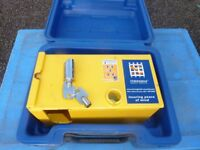 SMALL TRAILER CLAMP 5 STAR SECURITY RATING USED TWICE