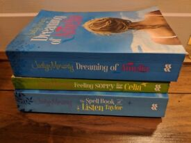3 Javlyn Moriarty books for sale