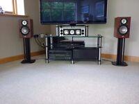 Anthem MRX500 receiver & Anthem MCA 20 stereo amplifier