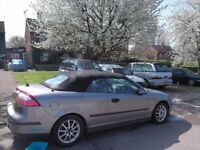 Saab 9-3 LINEAR convertible manual 2006 lovely car for summer!! Reliable,p-ex welcome,aa/rac welcome