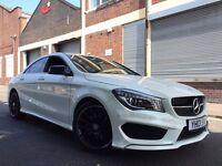 Mercedes-Benz Cla Class 2013 2.1 CLA220 CDI AMG Sport 7G-DCT 4dr SAT NAV + FMBSH + £30 ROAD TAX