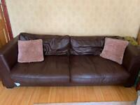 Free Leather Sofa - Collect Saturday 31st July