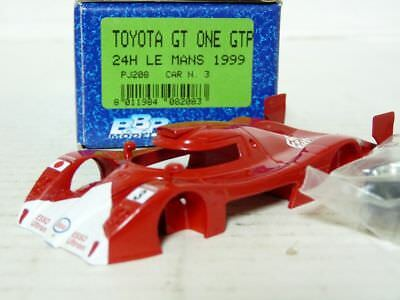 BBR PJ208 1/43 Toyota GT-One GTP Le Mans 1991 Handmade Resin Model Car Kit