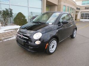 2016 Fiat 500C Pop - FWD  Bluetooth  Touch Screen  Low kms  Like