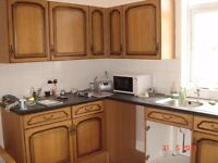 Selection of kitchen units. Wall and base units inc sink etc.