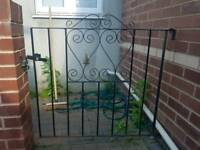 Black Iron Gate and matching fencing