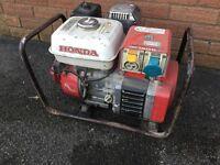 Honda EG 1900X 4 Stroke Petrol Generator 110-130v & 220-240v