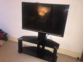 42'' Sharp TV with stand