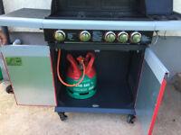 Barbecue Gas Masterchef 4 Burner with a side burner