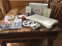 Huge Nintendo Wii console bundle including Wii balance board and game and Disney Infinity portal