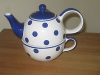 Whittard of Chelsea tea for one teapot and cup