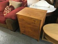 PINE CHEST OF DRAWERS (DELIVERY AVAILABLE)