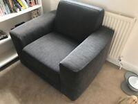 Blue John Lewis Armchair