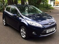 Ford Fiesta 1.4 Zetec 5dr, Full Service History