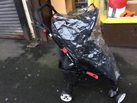 Baby Start Pushchair with Rain Cover