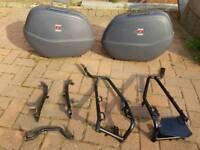 Honda Panniers and frame for Honda XL650 Transalp
