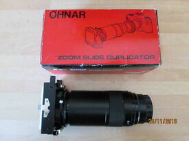 Vintage OHNAR Zoom Slide Duplicator