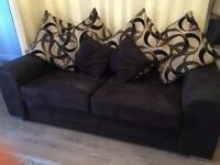 Sofa and cuddle swivel chair