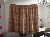 Curtains 2 pairs (heavy duty good quality)