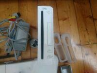 Original Nintendo Wii – Mario Kart, Wii Sports, 2x Remotes, 2x Nunchucks, HDMI adapter