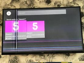 Luxor 55inch 4K smart tv spares or repairs