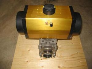 "3"" Air Actuated Sanitary Ball Valve Peterborough Peterborough Area image 2"