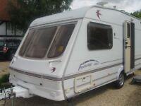 swift fairway caravan 2002 2 berth in very good condition