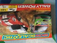 Micro scalextric rally power (like new)