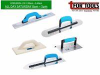 OX Tools 11 pc kit - pool & pointed trowel, edger, magnesium float + float