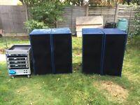 4 X Turbosound TMS4 With Yamaha Amp rack £2940 ONO