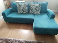 L shaped sofa great condition smoke free house.