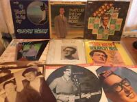 Assorted Buddy Holly Albums