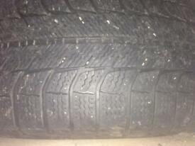 4 Winter Tyres 225/50/R17 98H