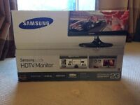 Samsung HDTV Monitor 23inch