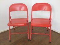 NEW 2 HABITAT folding chairs £15