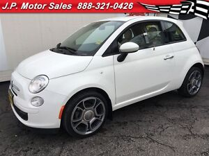2015 Fiat 500 Pop, Manual, Cd Player